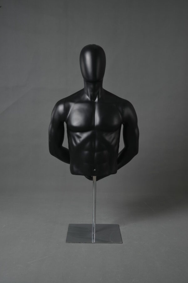 half-body male mannequin
