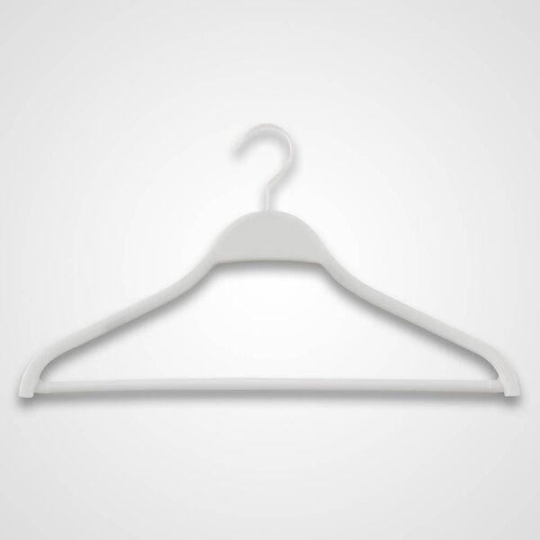 jacket hanger with bar