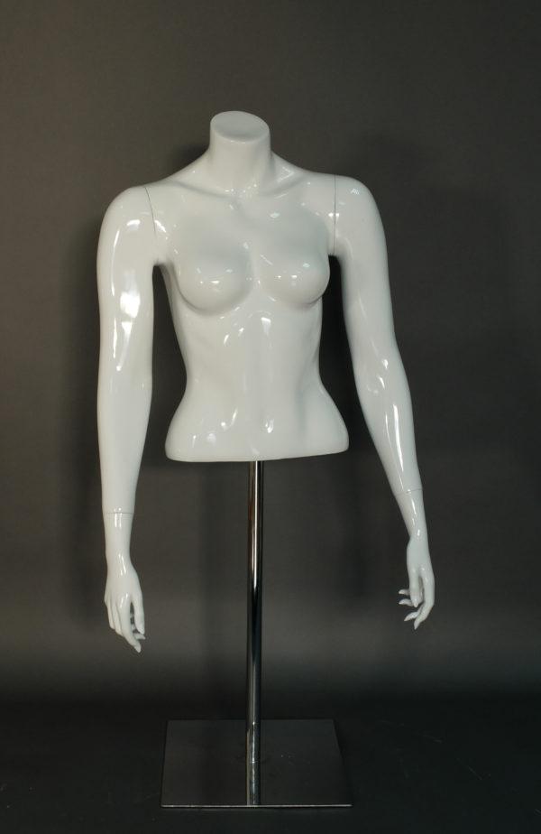 female torso mannequin