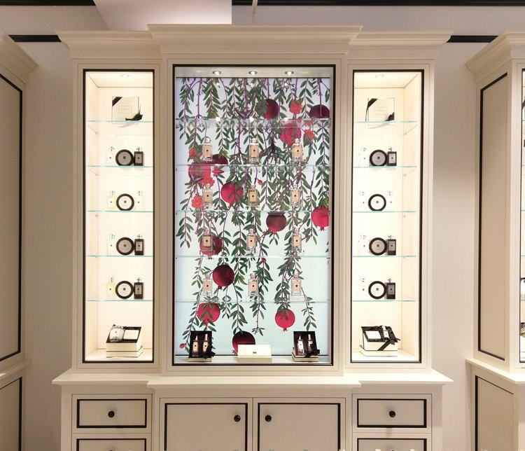 Jo Malone Interactive Fragrance Display Cabinet by Perch