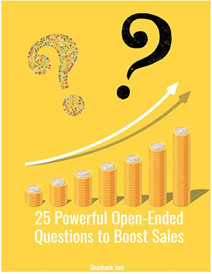25 powerful open-ended questions to boost sales ebook