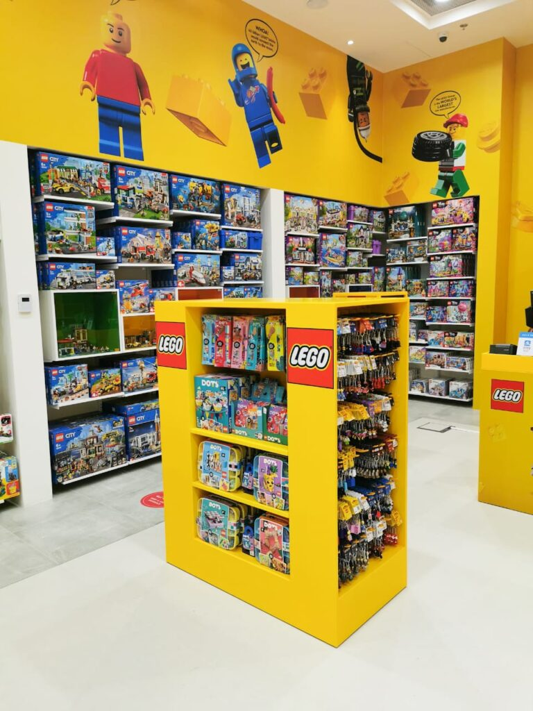 Lego store in Sharjah