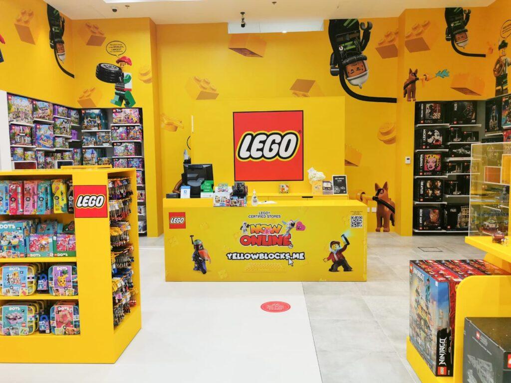 Lego store in Sharjah, UAE